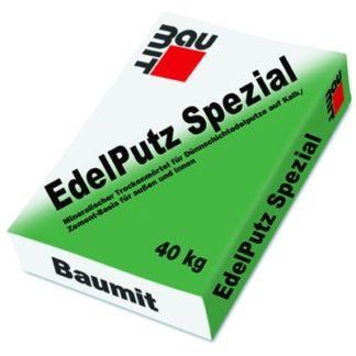 Baumit Edelputz Spezial Grey 2К (25кг) декоративная штукатурка барашек 2мм серая