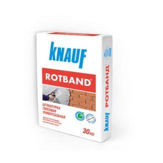 Штукатурка гипсовая универсальная Кнауф Ротбанд 30 кг