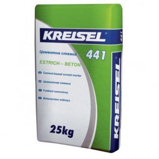 Цементная стяжка Kreisel 441 Estrich-beton 25 кг (10-60 мм)