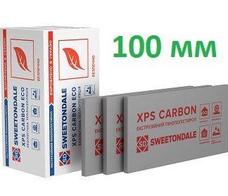 Пенополистирол экструдированный XPS Sweetondale CARBON ECO 1180х580х100 мм 4 шт/уп цена купить в Киеве