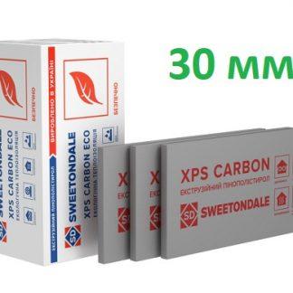 Пенополистирол экструдированный XPS Sweetondale CARBON ECO 1180х580х30 мм 13 шт/уп цена купить в Киеве