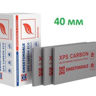 Пенополистирол экструдированный XPS Sweetondale CARBON ECO 1180х580х40 мм 10 шт/уп цена купить в Киеве