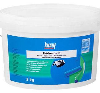 Гидроизоляционная мастика Кnauf Flachendicht (Флехендихт) (5 кг) цена купить в Киеве