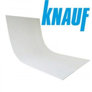 Гипсокартон гибкий KNAUF 1200x2500x6.5мм.- цена, купить в Киеве