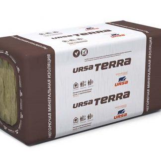 Минеральная вата утеплитель изоляция URSA TERRA 37 PN 20-1250x610x50 мм
