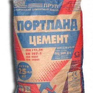 Цемент Белорусский ПЦ М-500-Д0 ЦБК (25 кг)