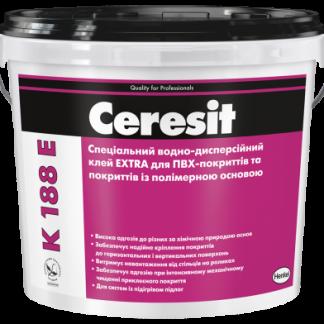 Клей для ПВХ-покрытий Ceresit K-188 E 12 кг