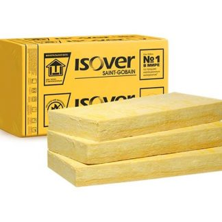 ISOVER Штукатурный фасад 100x600x1200мм Базальтовая вата пл. 135 кг/м3 (2,88м2) цена купить в Киеве