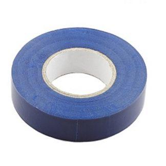 Изолента пвх синяя 19 ммх10 мм