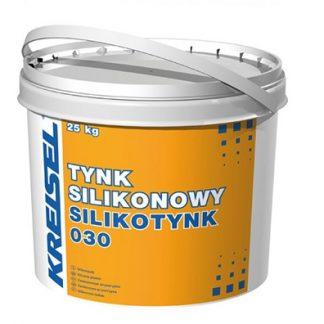 """Силиконовая штукатурка фасадная """"Барашек"""" зерно 1,5 мм Kreisel Silikotynk 030 PL база В"""
