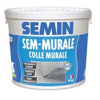 Клей для стеклообоев и ткани готовый SEMIN SEM-MURALE (10 кг)