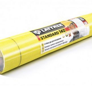 Сетка стекловолоконная LATYMER STANDARD 140, 5х5 желтая