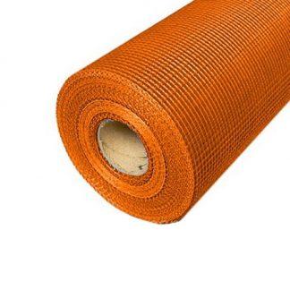 Сетка стекловолоконная Masterplast FIBERGLASS 160 г/м2 Оранжевая 50 м2
