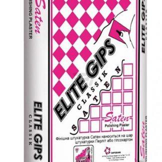 Финишная гипсовая шпаклевка Elite gips Saten 25 кг