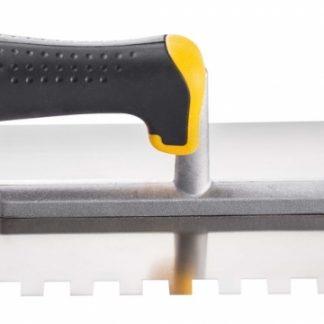 Гладилка 28х12 см нерж.сталь ручка 2 К зубчатая 12х12 мм цена купить в Киеве