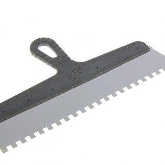 Шпатель с пластиковой ручкой 350 мм зуб 8х8 мм цена купить в Киеве