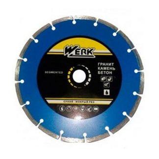 Круг Алмазный Werk Segment C3-W 125х7х22,23 мм цена купить в Киеве