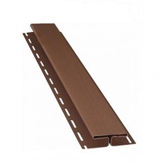 H профиль Bryza 3 м, коричневый цена купить в Киеве