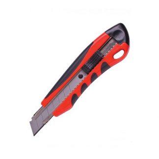 Нож универсальный пластиковый резиновые вставки в блистере 18 мм цена купить в Киеве