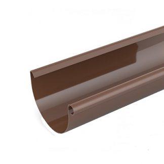 Ринва (желоб) Bryza 125мм/3м коричневая цена купить в Киеве