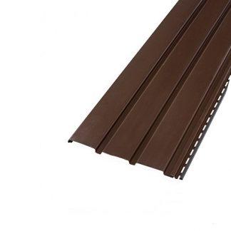 Софит панель Bryza 1.22 м2 коричневая 4х0.31 м цена купить в Киеве