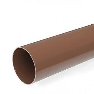 Труба водосточная Bryza 90мм/3м коричневая цена купить в Киеве