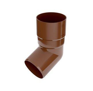 Колено 67,5 градусов Bryza 90 мм коричневый цена купить в Киеве