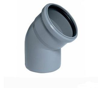 Колено Plastimex 50х15 мм цена купить в Киеве