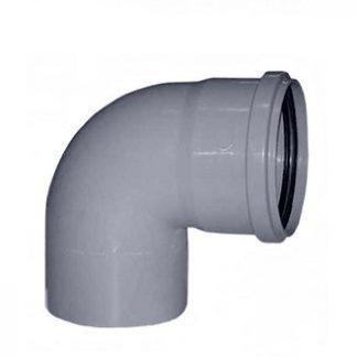 Колено Plastimex 50х90 мм цена купить в Киеве