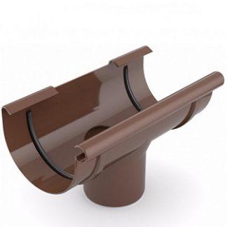 Лейка ринвы Bryza 125/90 мм коричневая цена купить в Киеве