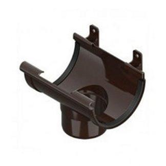 Лейка ринвы Ines 120/80 мм коричневая цена купить в Киеве