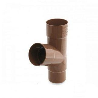Тройник Bryza 90/90/90 мм коричневый цена купить в Киеве