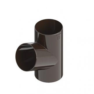 Тройник Ines 80/80/80 мм коричневый цена купить в Киеве