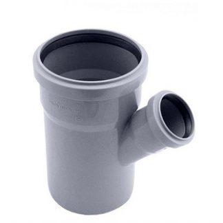 Тройник обыкновенный Plastimex 110х50/45 мм цена купить в Киеве