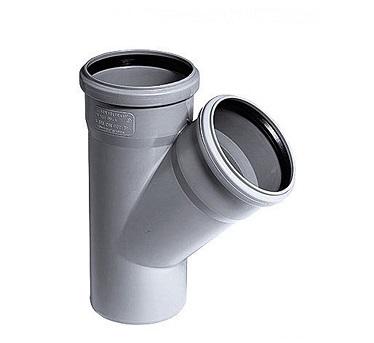 Тройник Plastimex обыкновенный 110х110/67 мм цена купить в Киеве