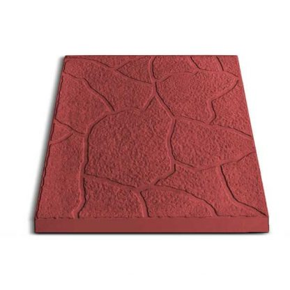 Плитка тротуарная Песчаник, 30х30х3 см, красный цена купить в Киеве