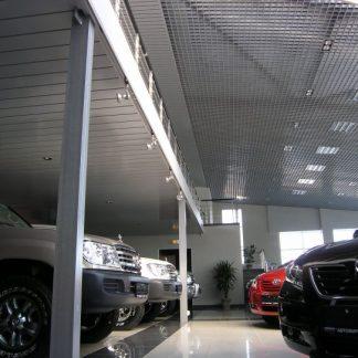 Грильято H30B10 металлик, ячейка 100x100мм, L=0,6 цена купить Украина
